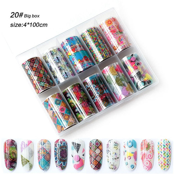 Nail Art Foil Glue Gel UV LED Lamp Required
