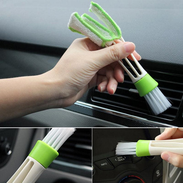Car Brush Air Conditioning Outlet Keyboard Dead Angle Gap Cleaning Brush