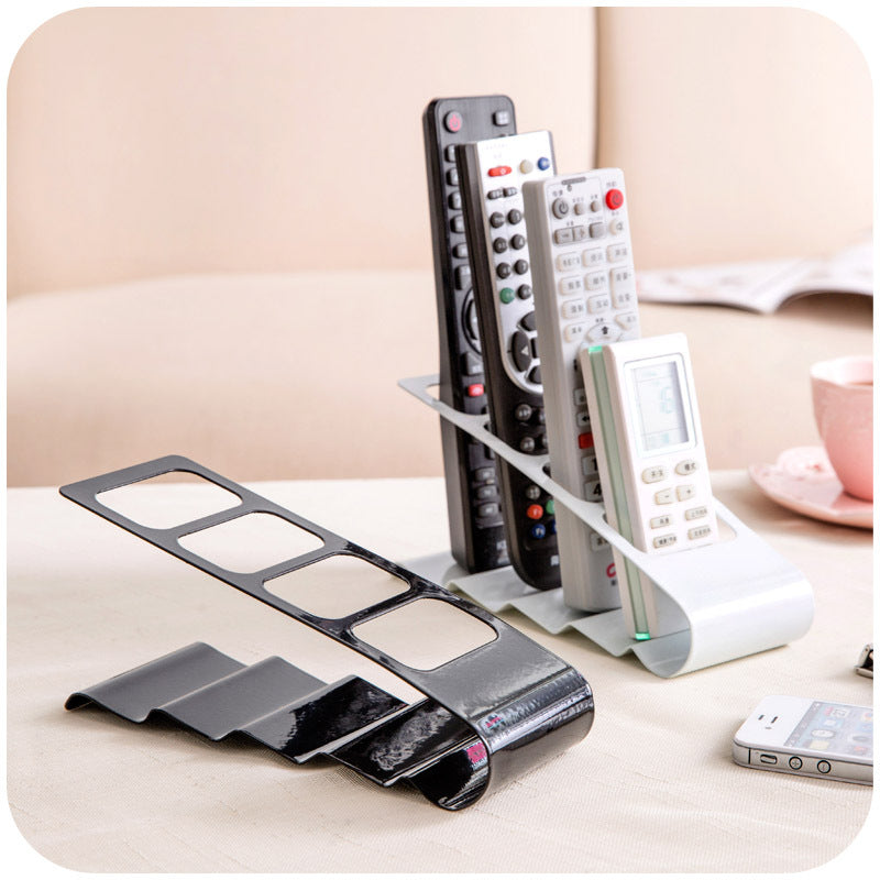 Desktop Storage Rack Four Grid Remote Control Storage Rack Plastic Desktop Storage Box