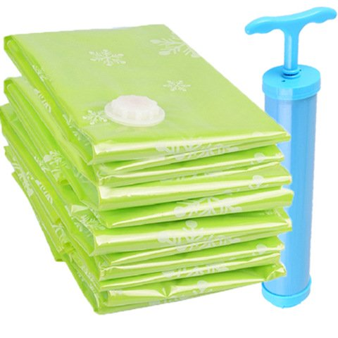 Vacuum Storage Bag+Pump/ 4Pcs/Pack Vacuum Clothes Storage Space Bags