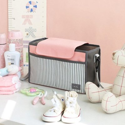 Baby Trolley Storage Bag Stroller Cup Bottle Holder Carriage Pram Buggy Organizer Mummy Bag
