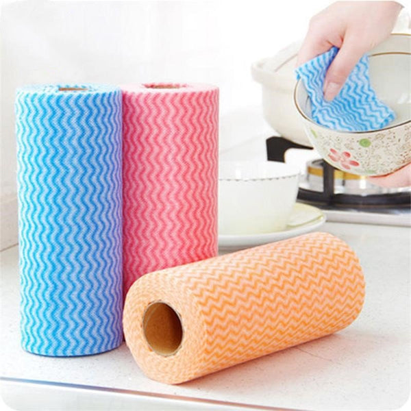 Multipurpose Kitchen Non-woven Dishcloth Dish Cloth Cleaning Cloths