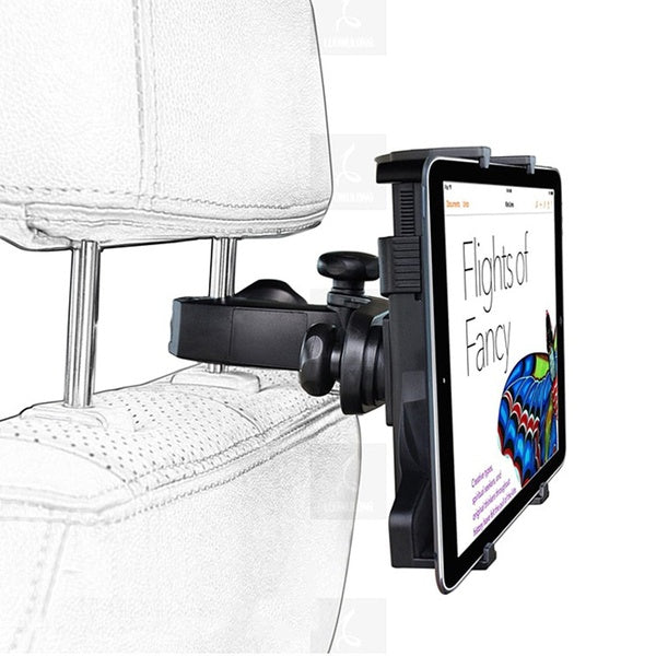 Adjustable Car Seat Headrest Mount Holder for iPad Galaxy Tablet