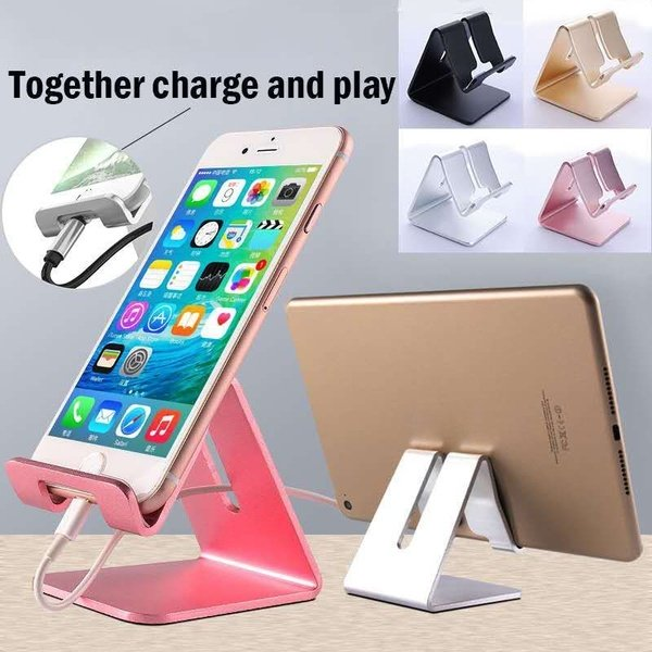 Aluminum Alloys Mobile Phone Desktop Support Tablet ipad Bedside Holder