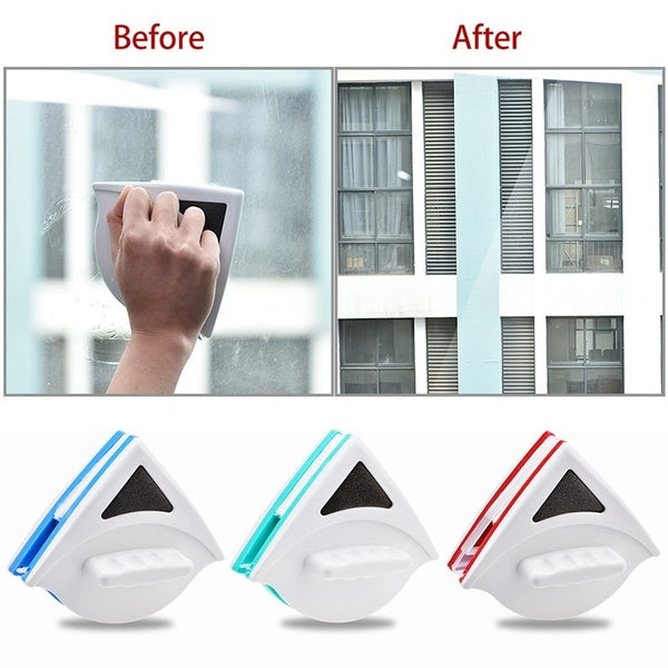 Safety Magnetic Washing Window Glass Brush Glass Cleaner Wiper Glass Cleaning Brush Tool