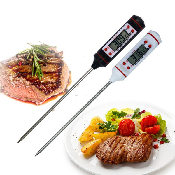 New Meat Thermometer Kitchen Digital Cooking Food Probe Electronic BBQ Cooking Tools