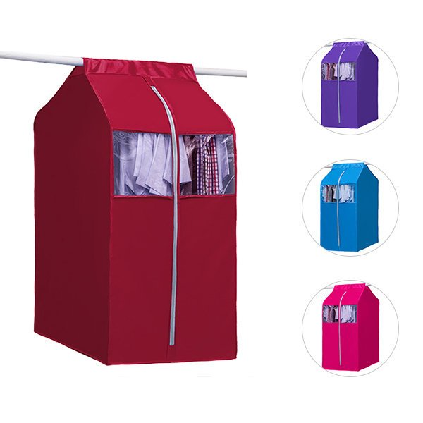 Visible Clothes Dustproof Cover Clothes Storage Bag