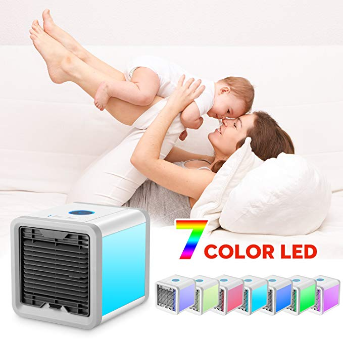 3 in 1 Personal Space Air Cooler  Humidifier  Purifier Desktop Cooling Fan  Used Office Home