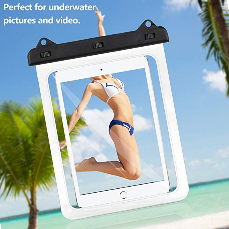 Universal iPad Waterproof Case  Mobile Phone Waterproof Bag Pvc Touch Screen Intelligent Drifting Outdoor Diving Swimming