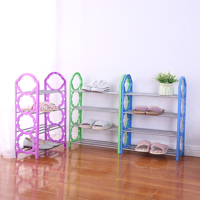 4 Tier Shoes Rack Student Accommodation Household Shoes Rack