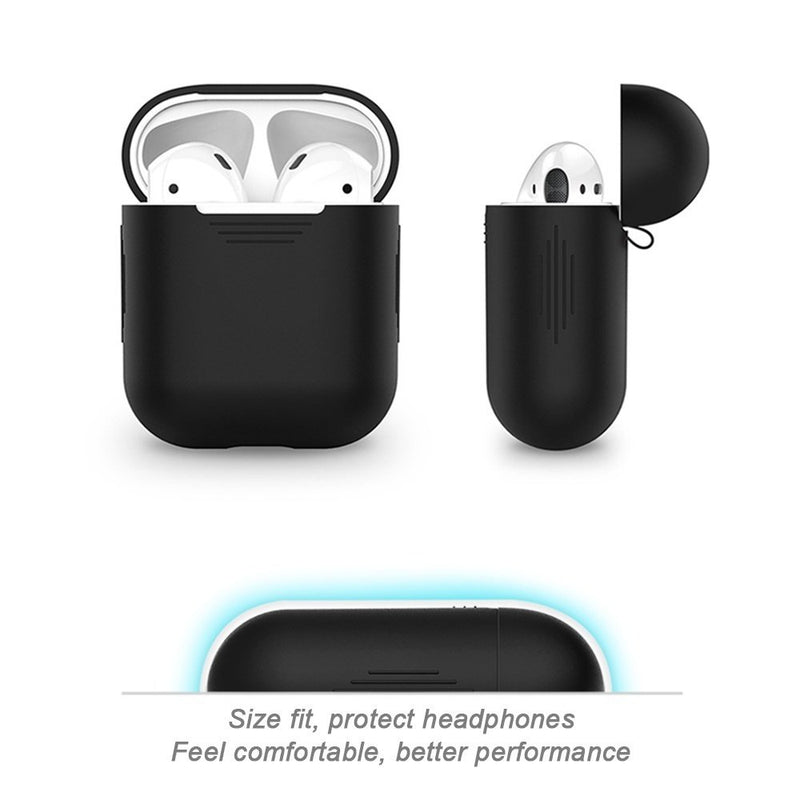 Earphone Charging Case Portable Cover Storage Airpods Bluetooth Headset Box Cover
