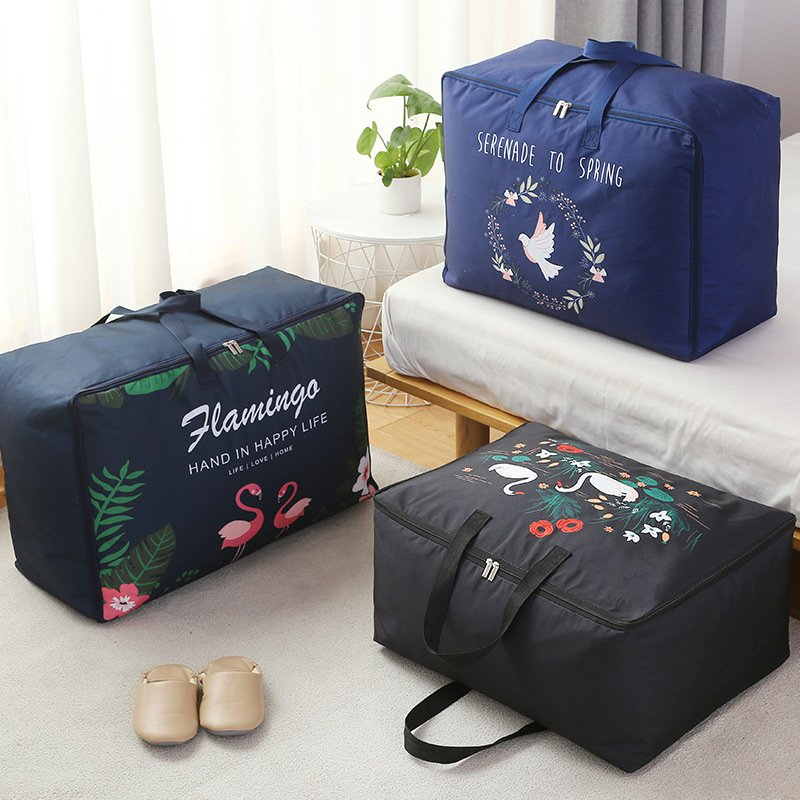 Nordic Style Oxford Storage Bag Clothing Organizer Box Waterproof