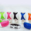 Automatic Lazy Toothpaste Dispenser 5 Toothbrushes Holder Wall Mount Stand