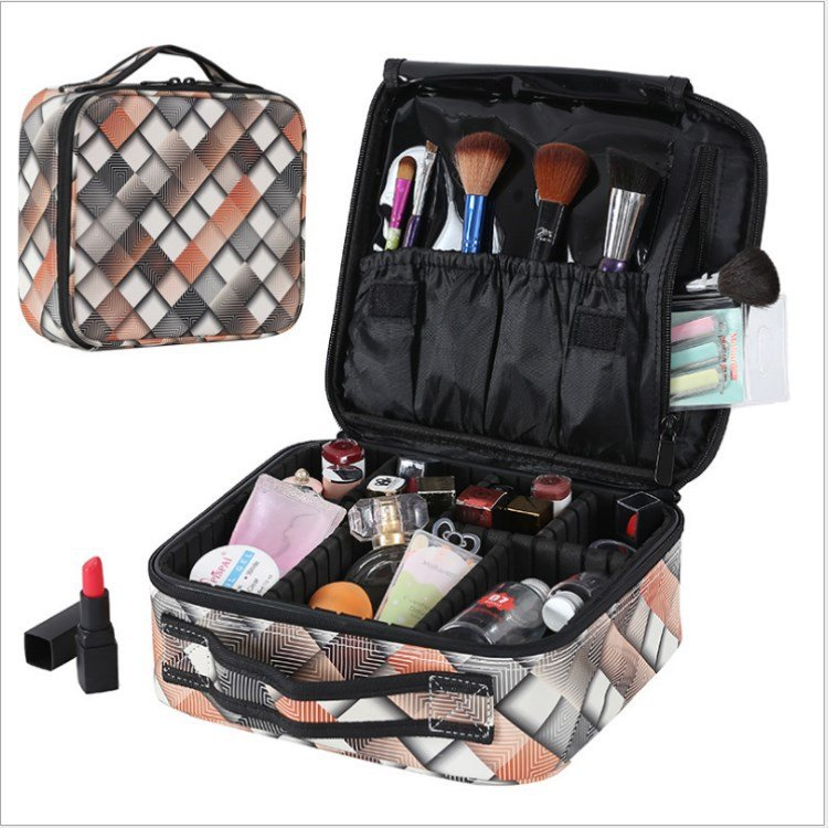 Multifunctional Portable Simple Cosmetic Bag Large Capacity Travel Make up Bag