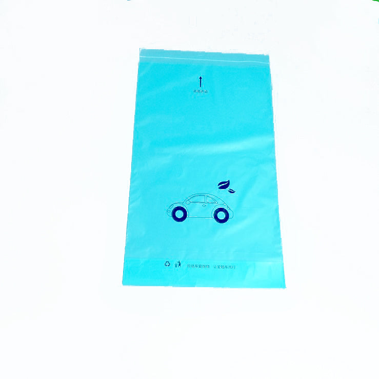 PE Car Hanging Bag Load Weight 1500g Sealable Garbage Bags