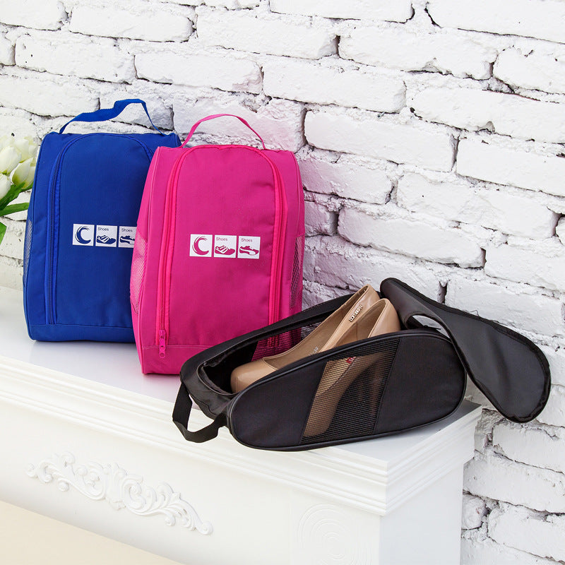 Portable Oxford Cloth Storage Shoe Bag for Outdoor Travel