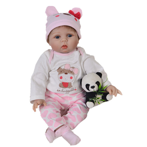 Hot Sale Plush Stuffed Baby Doll Simulated Babies Sleeping Dolls Reborn Baby Doll