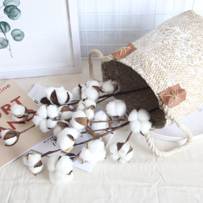 Simulation Cotton Branch Home Ornament