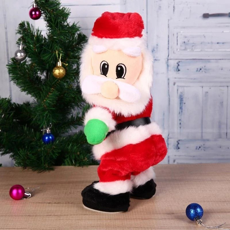 Twerking Santa Claus Christmas Gift Music Doll