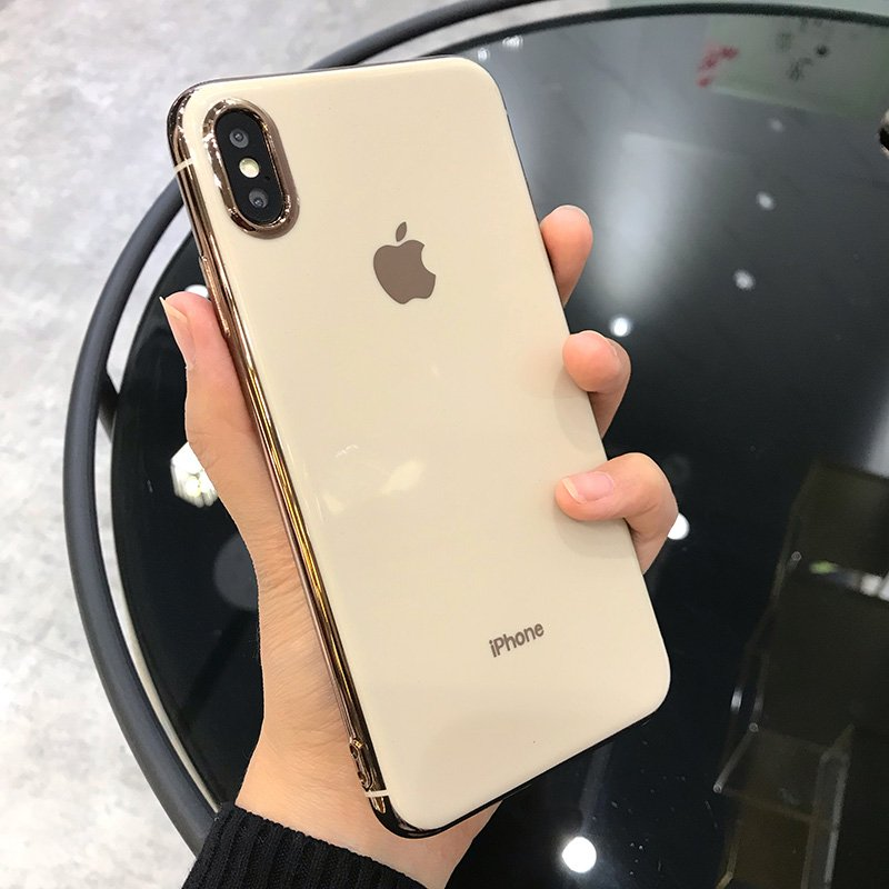【Buy 1 Get 1 at 50% off】Luxury Electroplated Bumper Glossy Cover With Logo for iphone