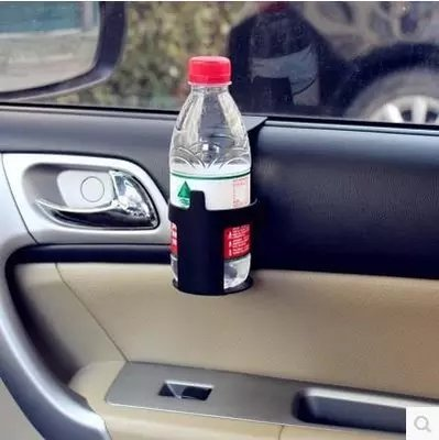 Stylish Simple Car Vehicle Beverage Bottle Can Drink Cup Holder Stand Clip Shelf for Car Truck Motobike Auto Accessories