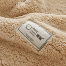 3Pcs Double-sided Thickening Lamb Cashmere Velvet Bedding Sets
