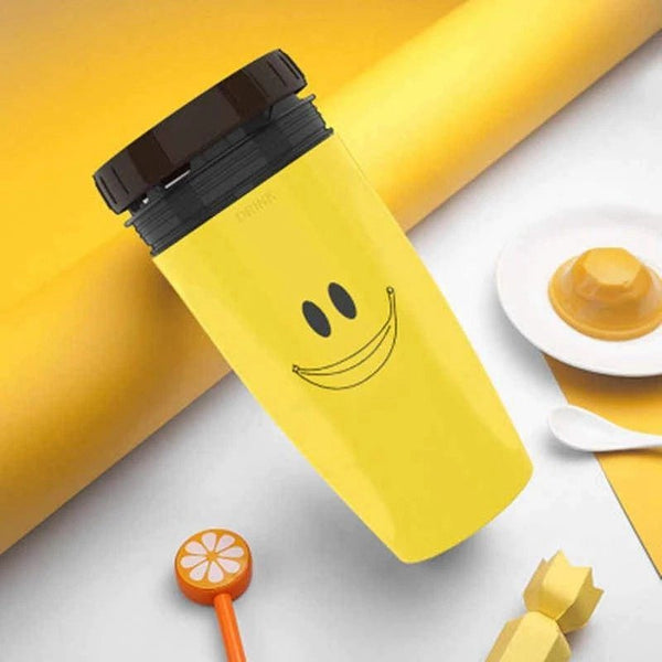 French Coverless Twist Children Portable Creative Cup