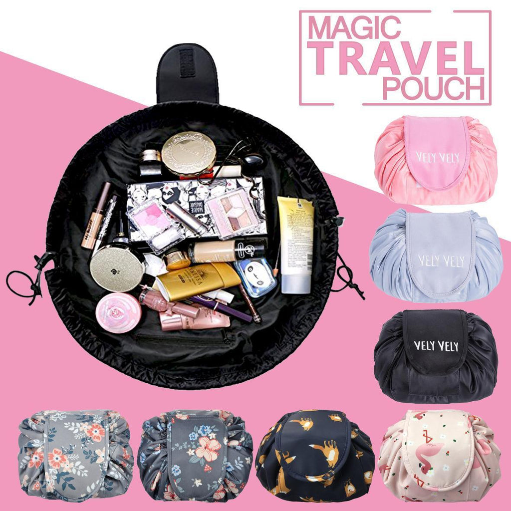 Quick Pack Large Capacity Cosmetic Bag Lazy Makeup Multi-function Portable Waterproof Travel Bag