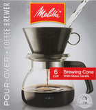 Gear | Melitta Pour-Over Coffee Brewer w/Carafe