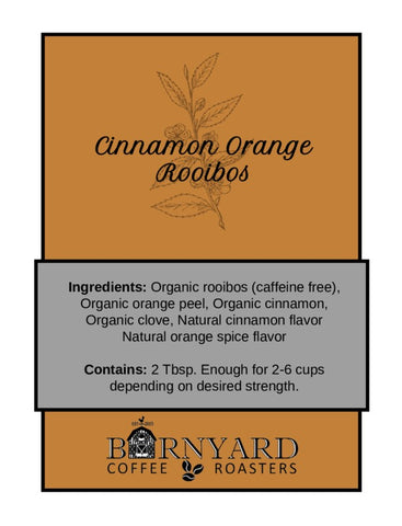 Tea | Cinnamon Orange | Rooibos