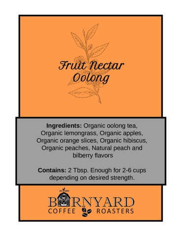 Tea | Fruit Nectar | Oolong