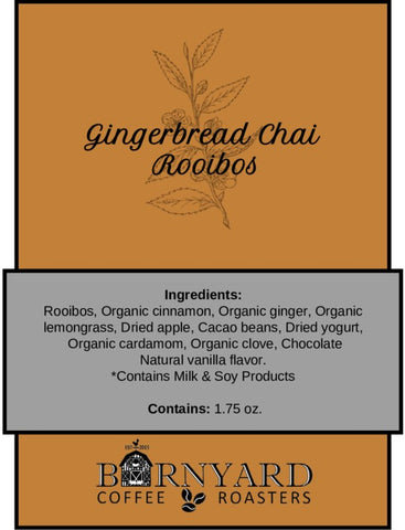 Tea | Gingerbread Chai | Rooibos