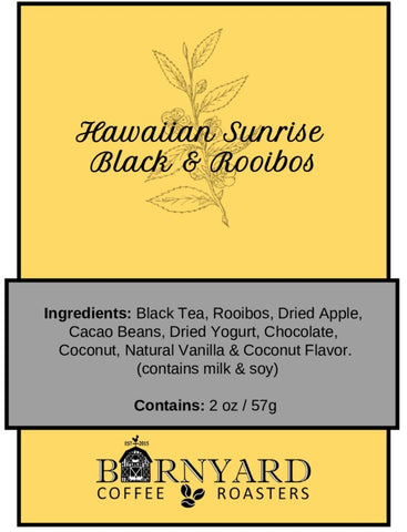 Tea | Hawaiian Sunrise | Black & Rooibos