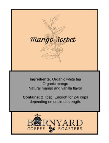 Tea | Mango Sorbet | White Tea