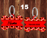 Double Sided Pet Tags