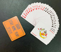 STAY HOME YEAR PLAYING CARDS