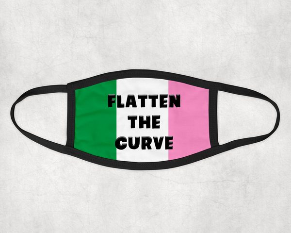 Flatten the Curve Mask