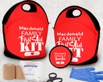 First Aid Kit and Small Bag
