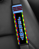 Seatbelt Cover for Child with Autism