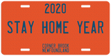 PLACENAME STAY HOME YEAR PLATE