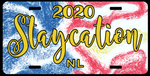 Staycation NL License Plate