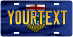 Alberta Customized Flag License Plate