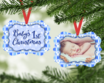Christmas Ornament - Baby's First Christmas (Boy)