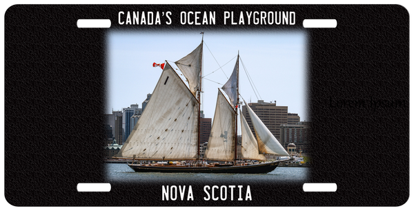 Bluenose License Plate