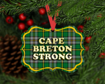 Christmas Ornament - Cape Breton Strong