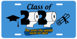 Class of 2020 License Plate