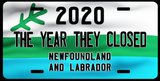 NL Closed License Plate