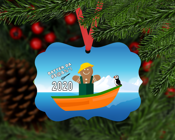 Batter Da #$@$@ 2020 Ornament