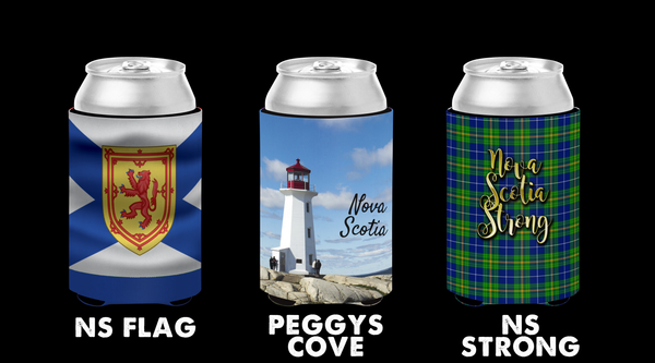 NS Themed Can Cozies