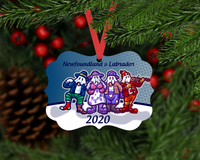 Mummers Christmas Ornament